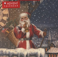Flame tree publishing - Snowy Santa Claus Advent Calendar.