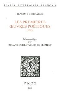Flaminio de Birague - Les premières oeuvres poétiques [1585].