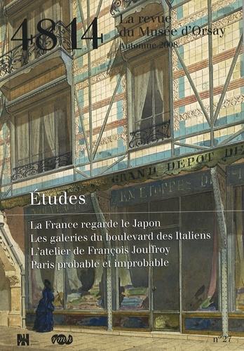 Philippe Thiébaut - 48/14 La revue du Musée d'Orsay N° 27, Automne 2008 : Etudes.