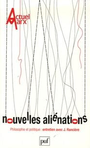 Franck Fischbach et Nicolas Tertulian - Actuel Marx N° 39, Premier semes : Nouvelles aliénations.