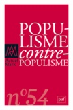 Monique Labrune - Actuel Marx N° 54, deuxième seme : Populisme/Contre-populisme.