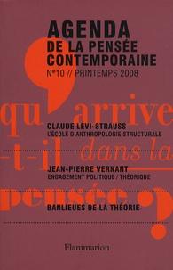 Bernadette Bucher - Agenda de la pensée contemporaine N° 10, Printemps 200 : .
