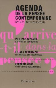 François Jullien et Liliana Albertazzi - Agenda de la pensée contemporaine N° 12, Hiver 2008-20 : .