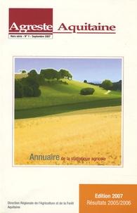 Katia Esteban - Agreste Aquitaine Hors-série n°1, Sept : Annuaire de la statistique agricole.