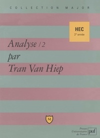 Van-Hiep Tran - Analyse HEC 2e année - Tome 2.