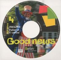 Belin - Anglais 4e Good News - CD élève de remplacement.