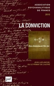 Laurence Kahn - Annuel de l'APF 2015 : La conviction.