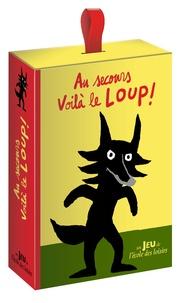 Cédric Ramadier et Vincent Bourgeau - Au secours voilà le loup ! - Avec 48 tuiles, 49 cartes, 4 pions.