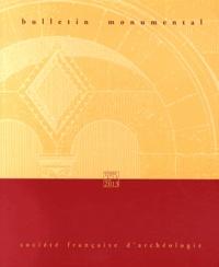 Eliane Vergnolle - Bulletin monumental N° 171-1, Mars 2013 : .