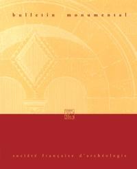 Eliane Vergnolle - Bulletin monumental N° 171-3, Septembre  : .