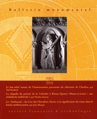 Eliane Vergnolle - Bulletin monumental N° 176-3, septembre  : .