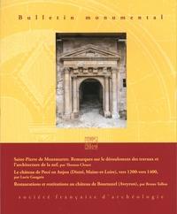 Société Française Archéologie - Bulletin monumental N° 177-1, mars 2019 : .