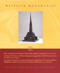 Eliane Vergnolle - Bulletin monumental N° 177-3, octobre 20 : .