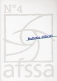 AFSSA - Bulletin officiel de l'Afssa N° 4, 1er semestre 2 : .