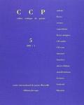 Farrago - Cahier critique de poésie N° 5/2002/1 : .