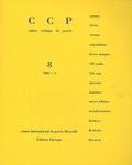 Jean-Pierre Boyer - Cahier critique de poésie N° 8 : .