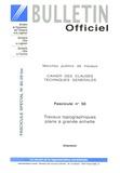 Ministère Economie et Finances et  Ministère de l'Urbanisme - Cahier des clauses techniques générales N° 50 : Marchés publics de travaux - Fascicule spécial N° 85-29 bis.
