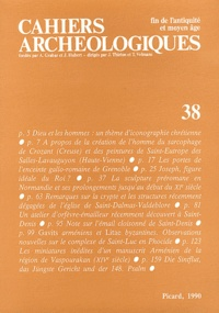 André Grabar - Cahiers archéologiques N° 38/1990 : .