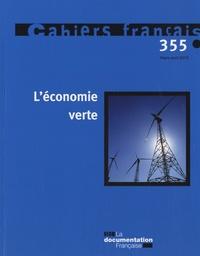 Olivia Montel-Dumont - Cahiers français N° 355, Mars-avril 2 : L'économie verte.