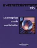 Olivia Montel-Dumont - Cahiers français N° 365, Novembre-déc : Les entreprises dans la mondialisation.