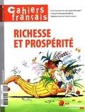 La Documentation Française - Cahiers français N° 400, août 2017 : Richesse et prospérité.
