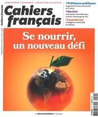 Elodie Lavignotte - Cahiers français N° 412, septembre-oc : Se nourrir, un nouveau défi.