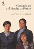 Thérèse Charmasson et Anne-Marie Lelorrain - Chronologie de l'histoire de France.