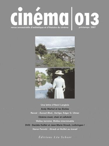 Henri Langlois et Thom Andersen - Cinéma N° 13, Printemps 200 : . 1 DVD
