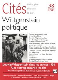 Robert Damien - Cités N° 38 : Wittgenstein politique.