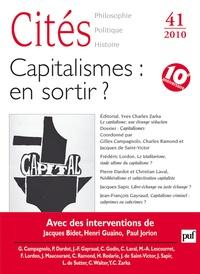 Gilles Campagnolo et Charles Ramond - Cités N° 41/2010 : Capitalismes : en sortir ?.