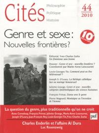 Marie-Anne Lescourret - Cités N° 44/2010 : Genre et sexe : nouvelles frontières ?.