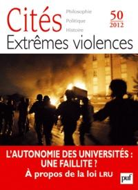 François Rastier et Marwan Mohammed - Cités N° 50/2012 : Extrêmes violences.