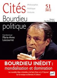 Marie-Anne Lescourret - Cités N° 51/2012 : Bourdieu politique.
