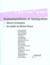 Jean-Marie Harribey et Mamadou Diouf - ContreTemps N° 16, Janvier 2006 : Postcolonialisme et immigration - Mozart écologiste, un inédit de Michel Henry.