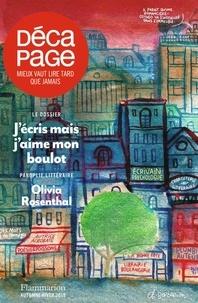 Jean-Baptiste Gendarme - Décapage N° 61, automne-hiver : J'écris mais j'aime mon boulot.