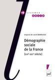 Virginie De Luca Barrusse - Démographie sociale de la France (XIXe-XXIe siècle).