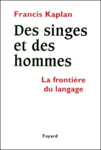 Des singes et des hommes. La frontière du langage.pdf