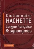 Hachette Multimédia - Dictionnaire Hachette langue française & synonymes - CD-ROM.