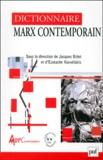 Eustache Kouvélakis et  Collectif - Dictionnaire Marx contemporain.