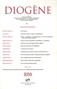 Edouardo Portella et Jack Goody - Diogène N° 206, Avril-Juin 2 : Humanismes émergents.