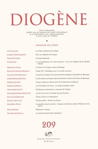 Fernando Aínsa et Gianni Vattimo - Diogène N° 209, Janvier-Mars : Approches de l'utopie.