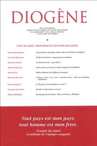 Vladimir Kolossov et Michael Rywkin - Diogène N° 210, Avril-Juin 2 : D'est en ouest : frontières et identités mouvantes.
