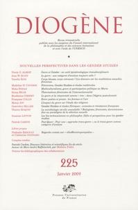 Nicole G. Albert et Joan-W Scott - Diogène N° 225, Janvier 2009 : Nouvelles perspectives dans les gender studies.