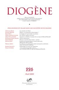 Abdennour Bidar et Soumaya Mestiri - Diogène N° 226, Avril 2009 : Philosophie et islam dans les sociétés musulmanes.