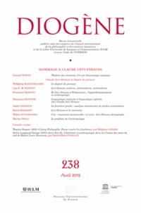 Gérard Toffin - Diogène N° 238, Avril 2012 : Hommage à Claude Lévi-Strauss.