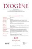 Brigitte Rollet - Diogène N° 245, Janvier-mars : Genre, mondialisation et cinéma.