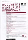 Ministère Affaires Etrangères - Documents d'actualité internationale N° 12 - 15 juin 2004 : .