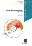 Fabienne Daguet - Données de démographie régionale 1954-1999. 1 Cédérom