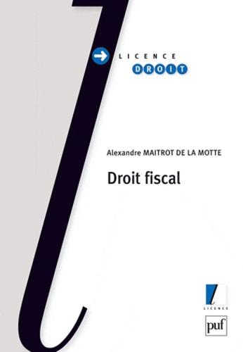Alexandre Maitrot de la Motte - Droit fiscal.