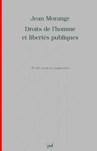 Jean Morange - Droits de l'Homme et libertés publiques.